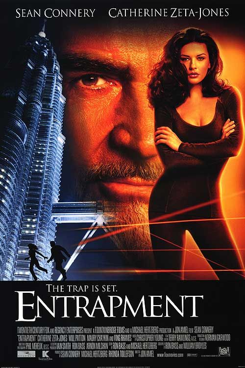 entrapment movie | Entrapment movie posters at movie poster warehouse movieposter.com http://www.movieposter.com/poster/A70-2100/Entrapment.html