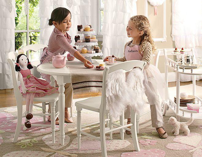 Pottery Barn Kids: Tea Time Playroom