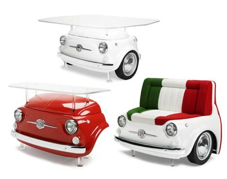 Tendencia chic: muebles inspirados en autos | Alto Nivel