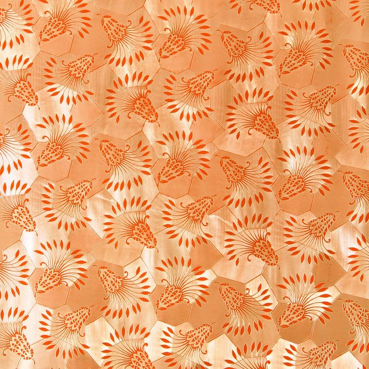 Orange Deep Embossed Roll Wrap