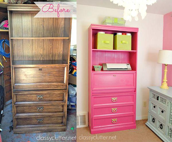 M s de 25 ideas incre bles sobre muebles viejos en - Modernizar muebles antiguos ...