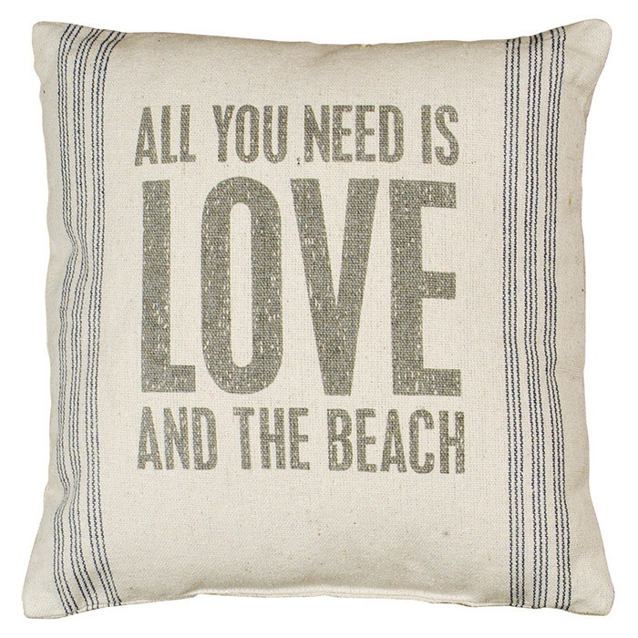 Love and the Beach Pillow <3