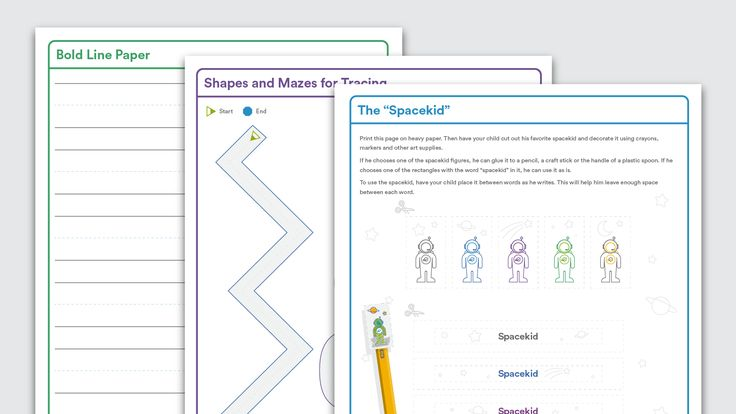 Download Tools to Help With Handwriting Handwriting, Tracing - print line paper
