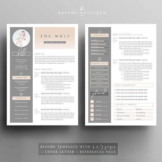    CODE PROMO: 2 CV pour 25$ USD, utilisez le code 2PLEASE     Bienvenue sur la Boutique de curriculum vitae! Nous avons créer des modèles qui vous aider à faire une impression durable lors de l'application pour votre carrière de rêve. Nous visons pour la sophistication et l'élégance avec une touche moderne, combinée avec un design bien pensé avec beaucoup d'espace pour tout le contenu de votre texte.  ▬▬▬▬▬▬▬▬▬▬▬▬▬▬▬▬▬▬▬▬▬▬▬  Télécharger ce fichier pour une professionnellement conçu et…