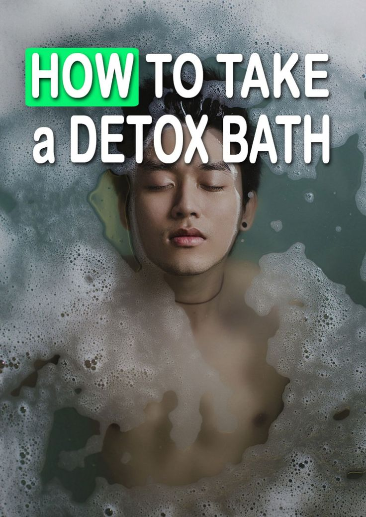 Sweating is your body's natural way of detoxifying. Soaking in hot water can assist in pulling harmful toxins from your skin. Detox baths can also help ease sore muscles. This ancient remedy …