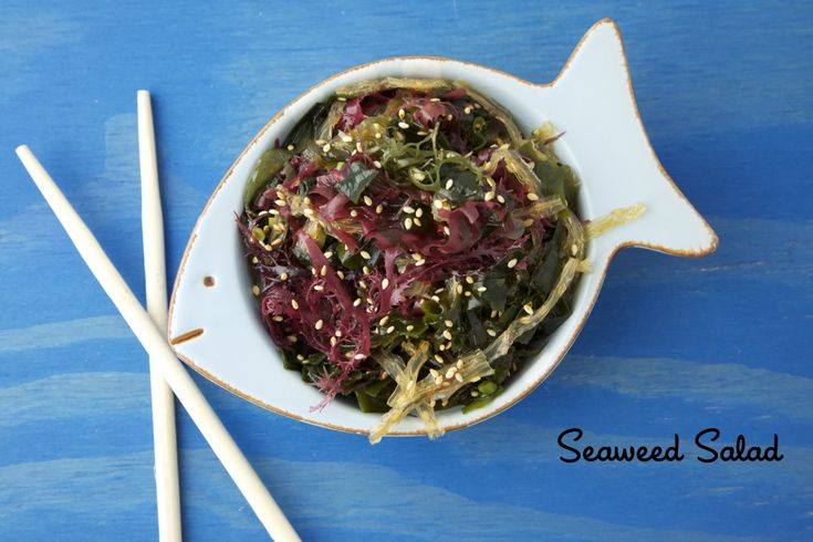 My girls love seaweed salad! This looks like a great recipe from Weelicous...