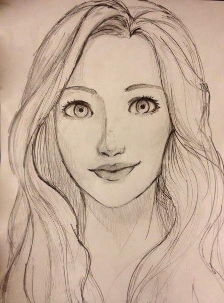 """Résultat de recherche d'images pour """"easy portrait drawing ..."""