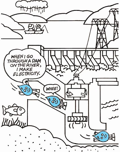 energy coloring pages - 27 best stem hydropower keep on turning images on