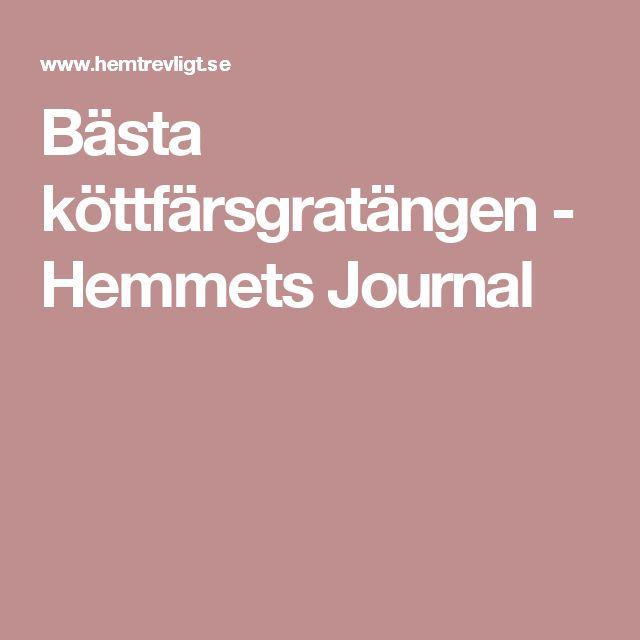 Bästa köttfärsgratängen - Hemmets Journal
