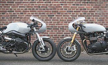 Aus Hamburg kommt die Firma Hanse Qustom und die bauen auf BMW- und Triumph-Basis richtig interessante Bikes. Ein paar davon gibt es hier zu sehen ...