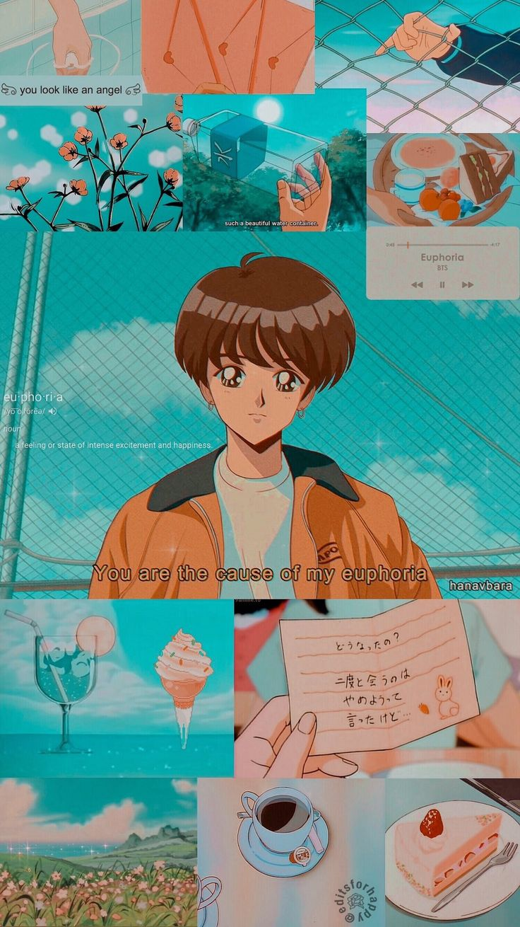 Jungkook Aesthetic Anime Wallpaper / Kredite an twitter / editsforhappy © (Fanar …
