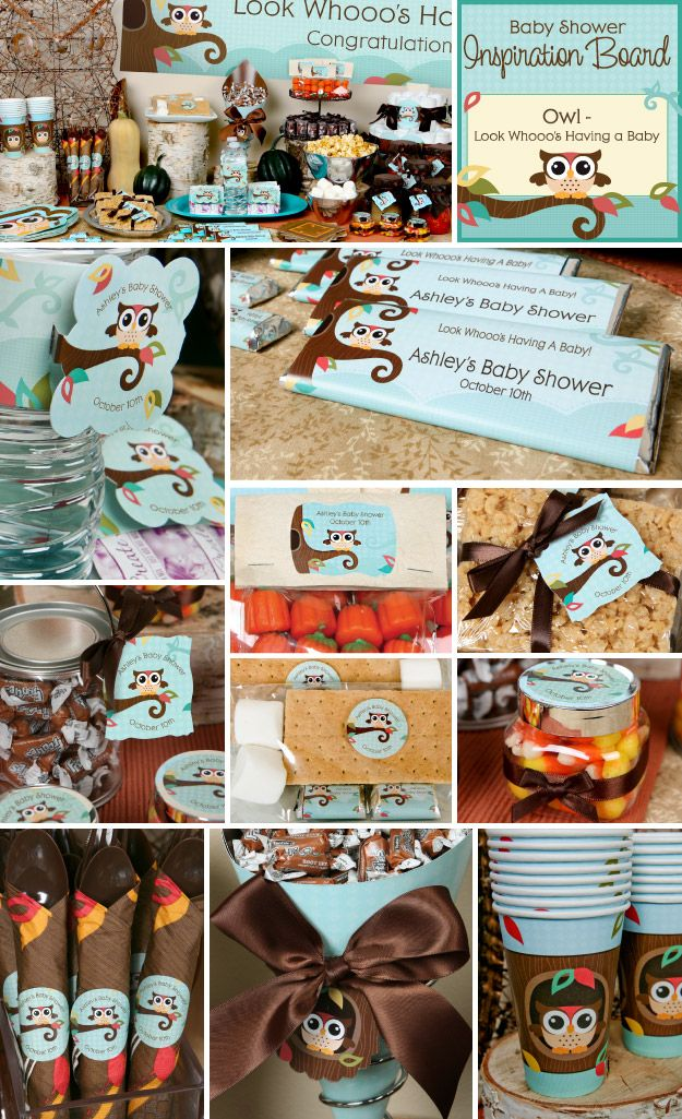 Owl Party Ideas  http://www.bigdotofhappiness.com/owl-babyshower-theme.html