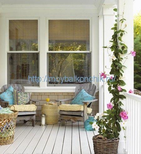 <p>Что вы представляет думая о деревенском стиле в дизайне? Это соединение природных материалов и легкой небрежности в интерьере, представленном в виде старой мебели, милых безделушек, плетеных корзин и, конечно же, натуральных материалов. Создать деревенский стиль на балконе проще, чем в квартире. Ведь единение с природой будет очень близким. А добавить …</p>