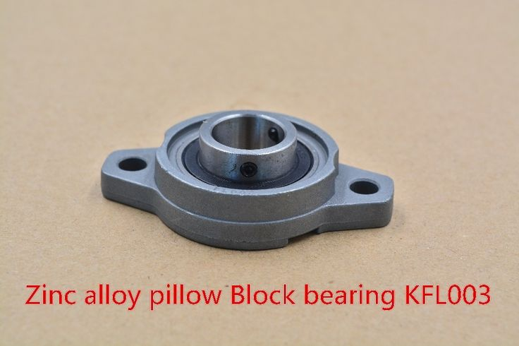 1$  Buy here - 17mm bearing zinc alloy miniature bearing pedestal KFL003 UCFL003 FL003 flange bearings diy cnc parts KFL003 1pcs   #buyininternet