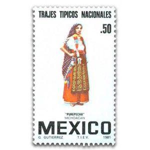 Trajes Típicos Regionales Mexicanos, Purépecha, Michoacán - Tienda MUFI