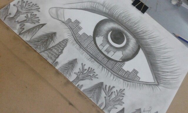 Karakalem göz