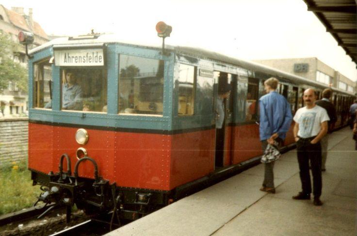 The S-Bahn to Ahrensfelde, East Berlin, August 1988   by winsleigh