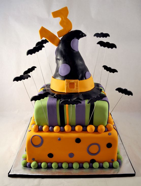 halloween birthday cake - Halloween Decorations Cakes