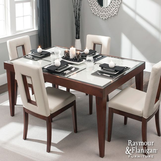 Streamline Your Look | Contemporary Dining Rooms Are Simple And  Streamlined. This Dining Set Fits