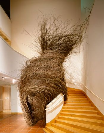 My all time favorite Patrick Dougherty installation - ecstatic and grounded, tactile and dreamy