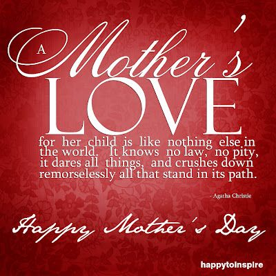 Happy Mother's Day to all!!