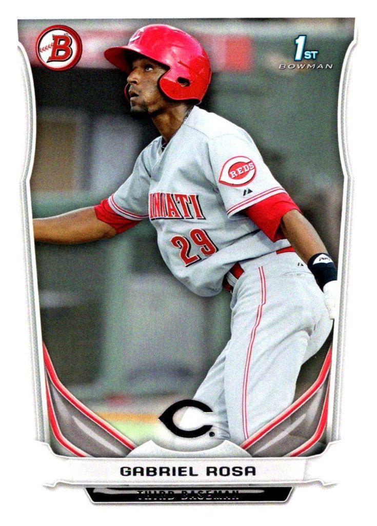 1afcfd131 ... Merchandise 2014 Bowman Prospects Gabriel Rosa Cincinnati Reds ...