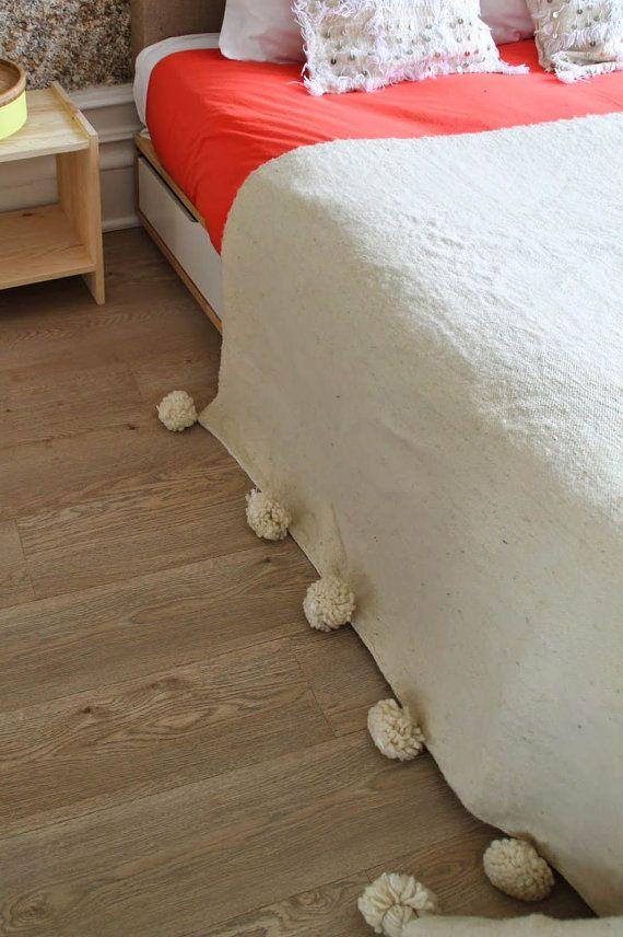 Verbreitung der marokkanischen Bett Decke werfen oder von WoolooM