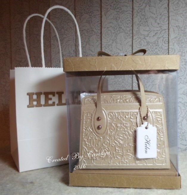 TONIC KENSINGTON HANDBAG & PRESENTATION BOX | docrafts.com