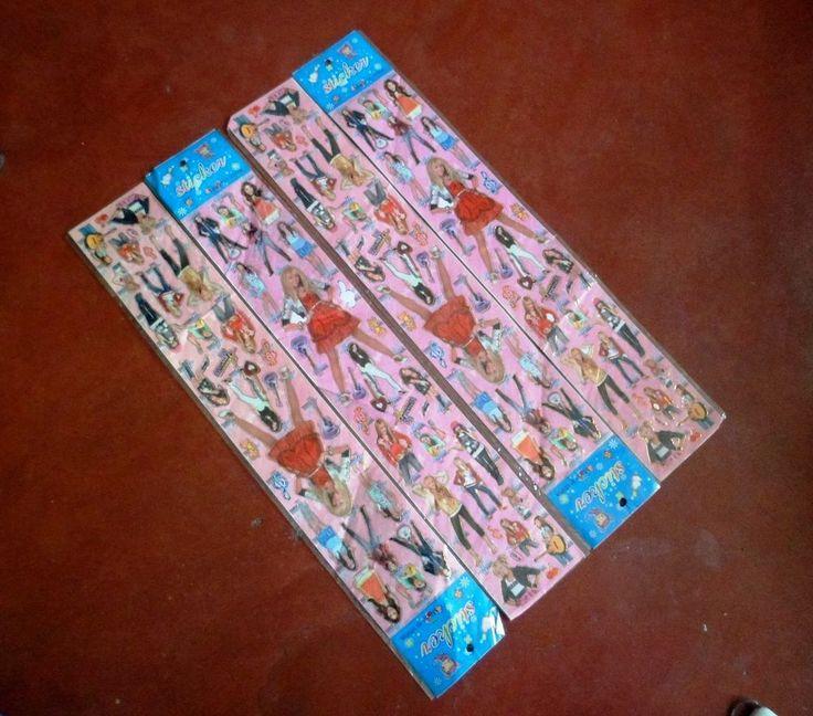 3 Nos. Hana Montana Sticker Cards Collection [0106]