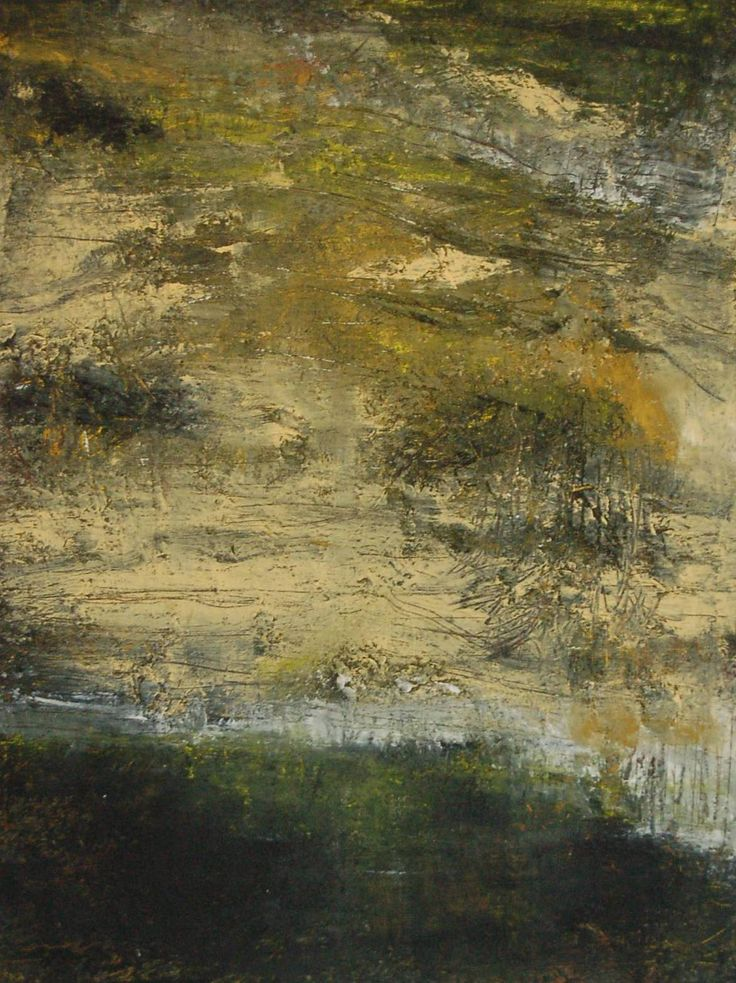 Oil paint, Wax, mixed media on panel, 2017. By Marie Therese Wekx
