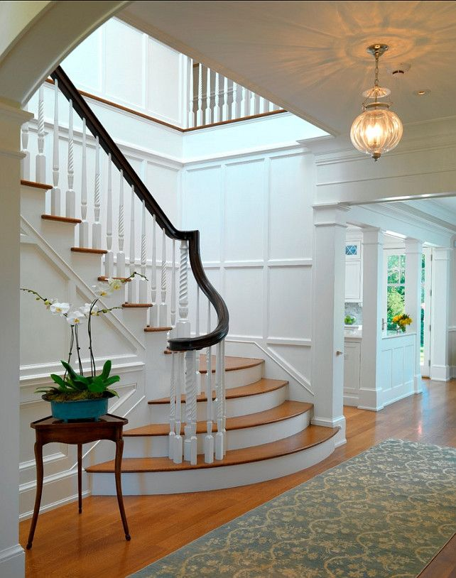 25 best ideas about traditional staircase on pinterest for Round staircase designs interior