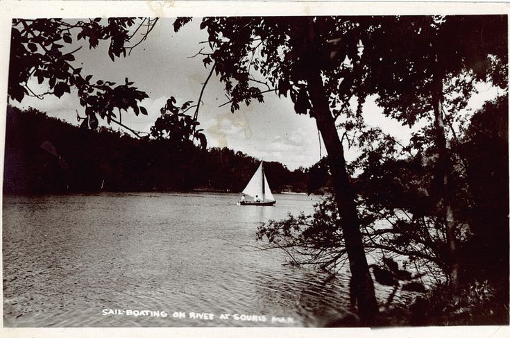 Sailboat on the Souris River