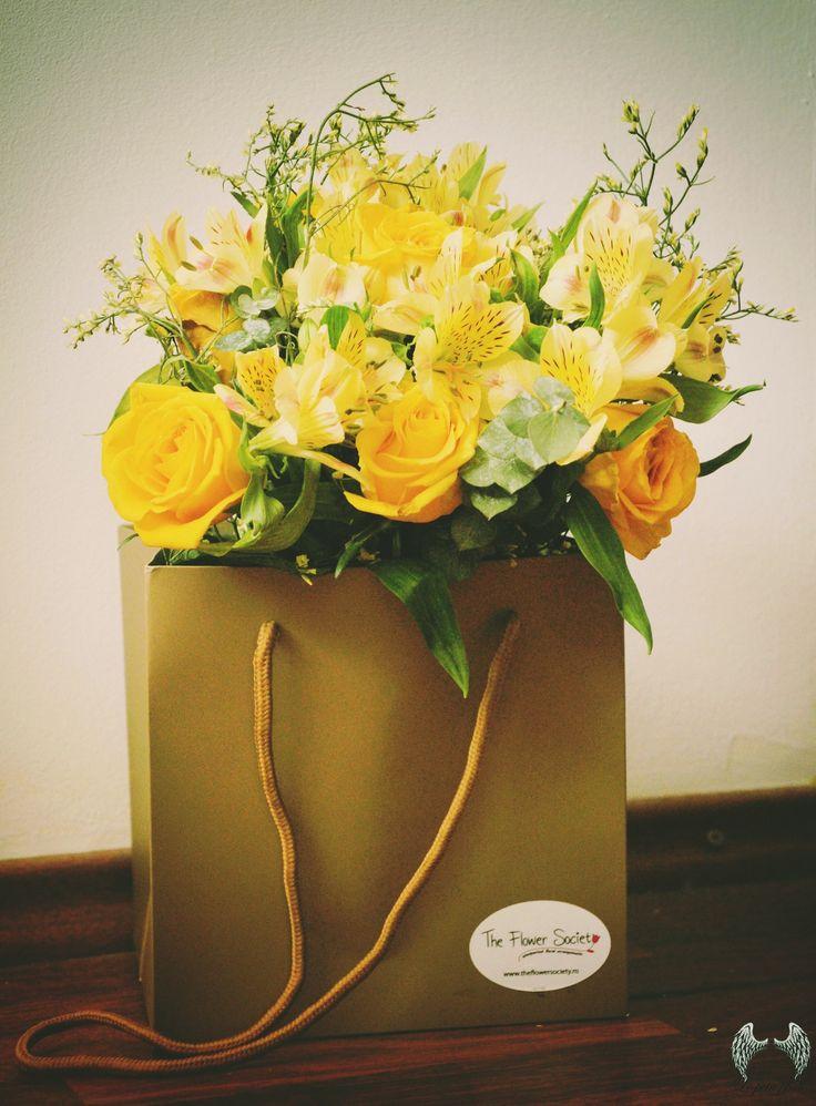 Yellow http://theflowersociety.ro/