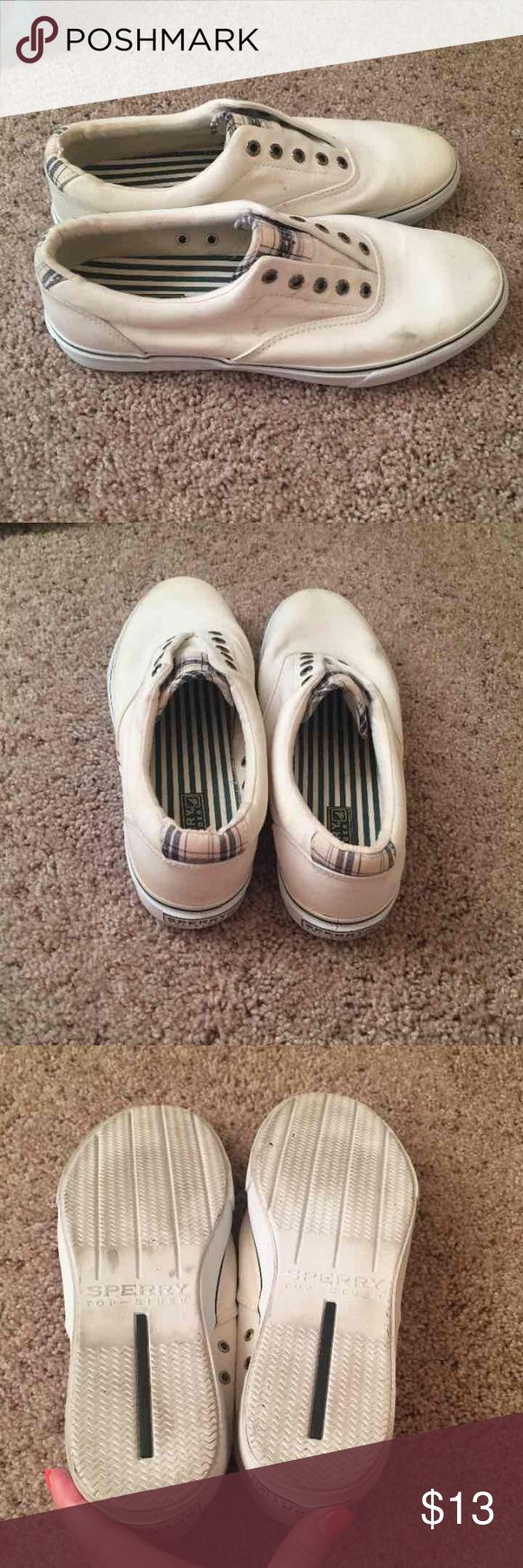 Men's sperry top sider Good condition overall, but you can see some wear. Sperry Top-Sider Shoes Loafers & Slip-Ons