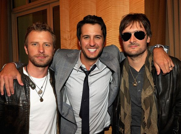 Luke Bryan, Dierks Bentley, and Eric Church!!!