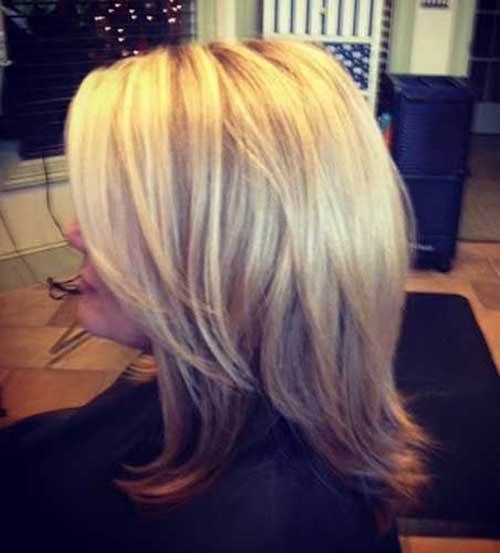 photos of medium length haircuts 1000 ideas about layered bobs on longer 5441