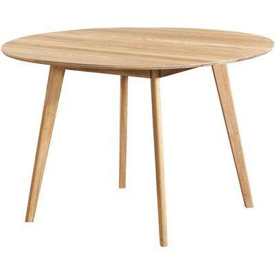 Katie runt matbord ø115 cm - Ek