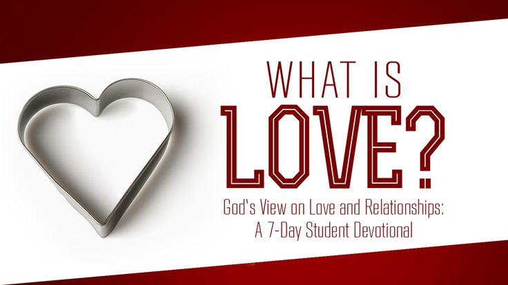 I just finished day 4 of the @YouVersion plan 'What is Love? God's View On Love And Relationships'. Check it out here: