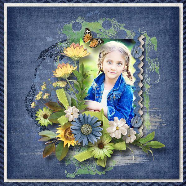 """""""Sunflowers & Lemonade"""" Collection by Alexis Design Studio http://www.thedigichick.com/shop/Sunflowers-and-Lemonade-Collection.html save 42% photo Irina Grišina use with permission"""