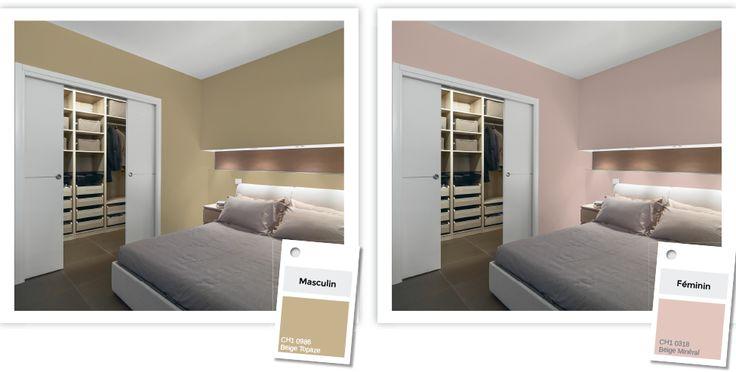 Oltre 1000 idee su peinture chambre adulte su pinterest couvre lit satin c - Tendance chambre adulte ...