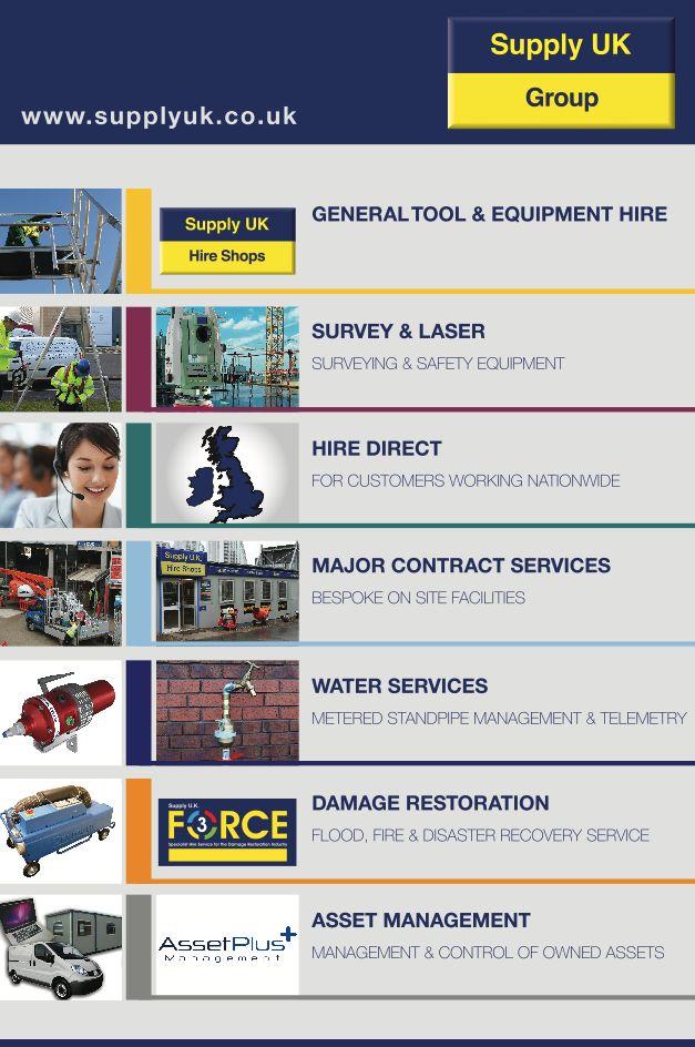 Supply UK Group Office signage @1define