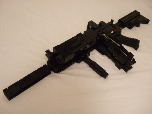 lego gun...not so sure of the functional part