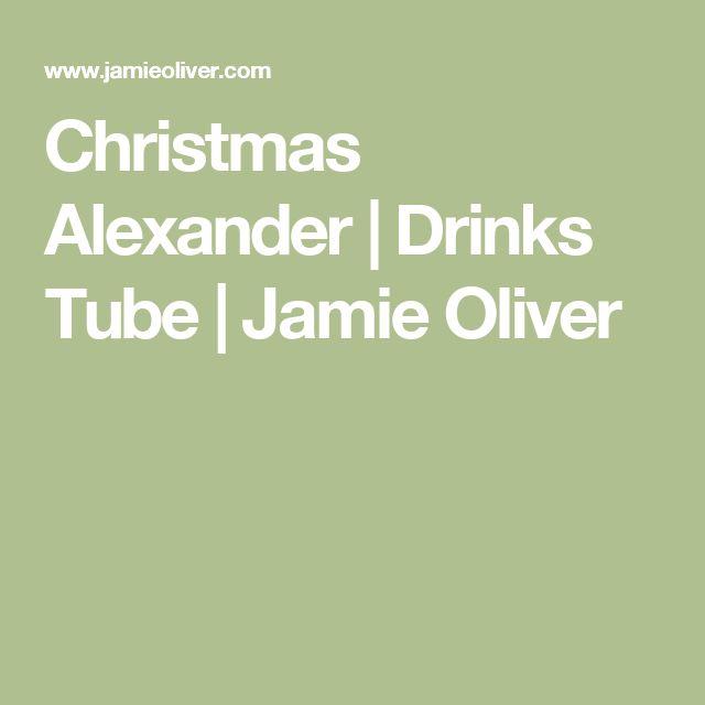 Christmas Alexander | Drinks Tube | Jamie Oliver