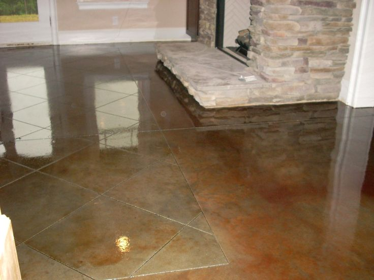 9 Best Images About Stained Concrete On Pinterest Stains