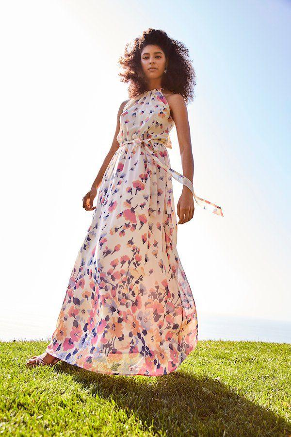 91fbcd375eaa Illuminated Elegance Chiffon Maxi Dress in Ivory in 2019