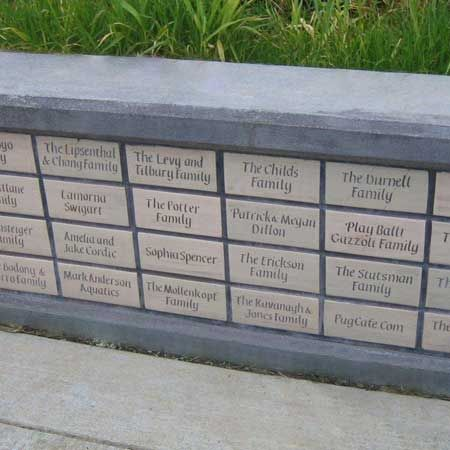 Clayworks Studio Gallery Our Pavers Inscribed With