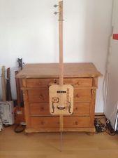 Cigarbox Guitar/ Zigarrenboxgitarre mit Tonabnehmer