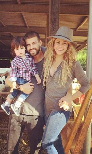 SHAKIRA AND GERARD PIQUE:   The Colombian pop dynamo broke records by becoming the first person to have 100 million likes on Facebook.  She also provided the entertainment at the World Cup.  Her partner Spanish powerhouse Gerard, who has won every important title with the national side, is her biggest fan.  And when they are not out conquering the world, the couple are simply 'mama' and 'papa' to their son Milan.