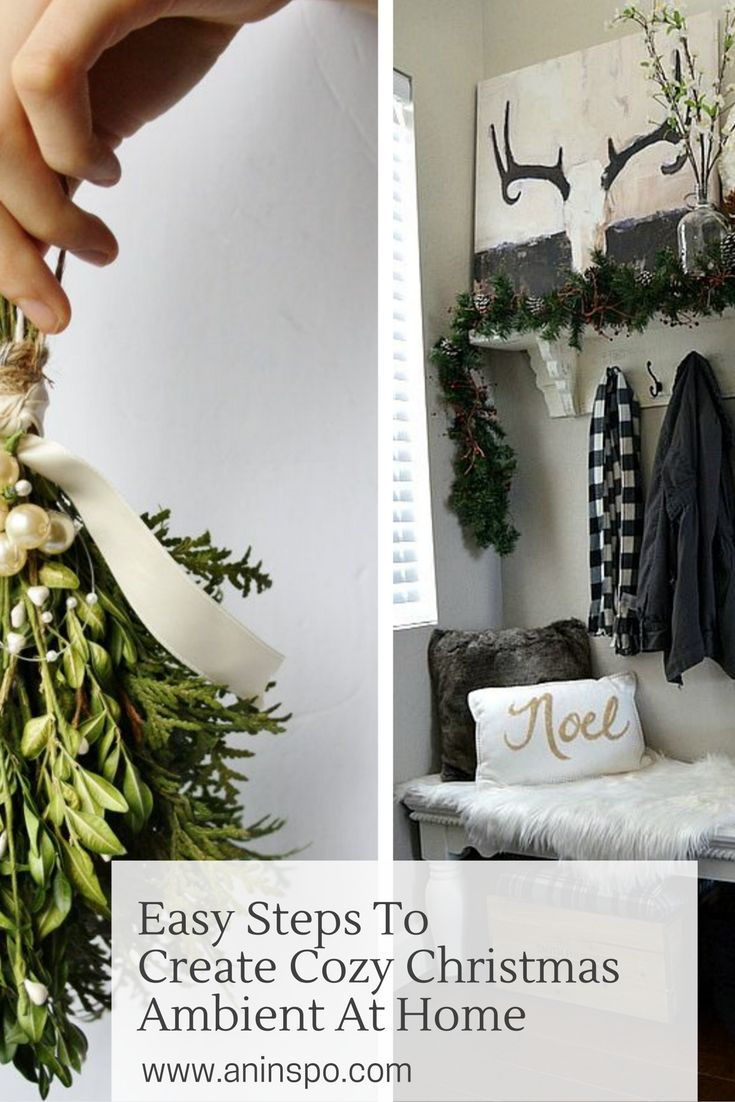 7 Easy Steps To Create Cozy Christmas Ambient At Home