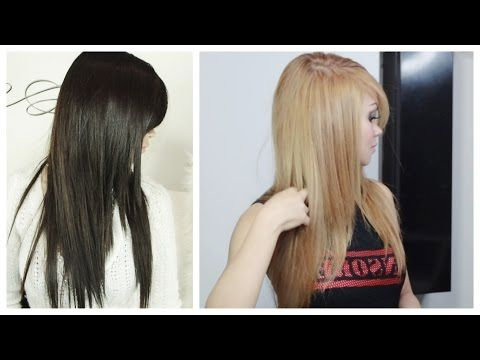 ▶ How to Lighten Hair at Home - No Added Bleach - YouTube (love the color and hair style)